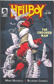 Hellboy The Crooked Man #2 (2008) Mike Mignola Dark Horse comic book